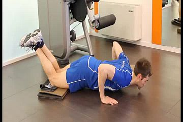 Kneeling push up support a DX